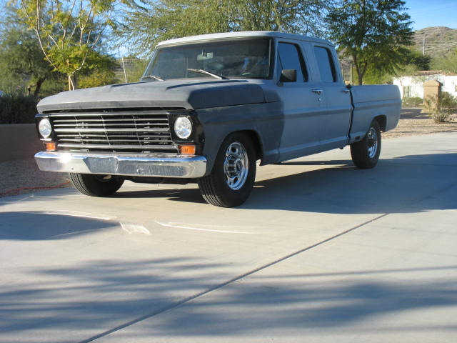 1968 Ford Crew Cab Short Bed