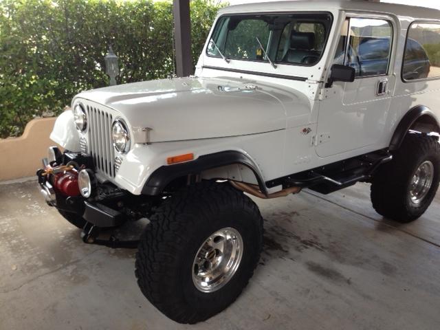 1986 AMC Jeep CJ7