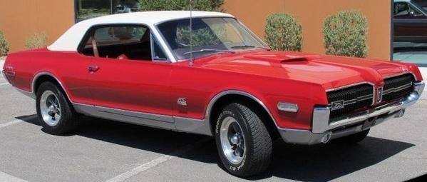 1968 Mercury Cougar GTE