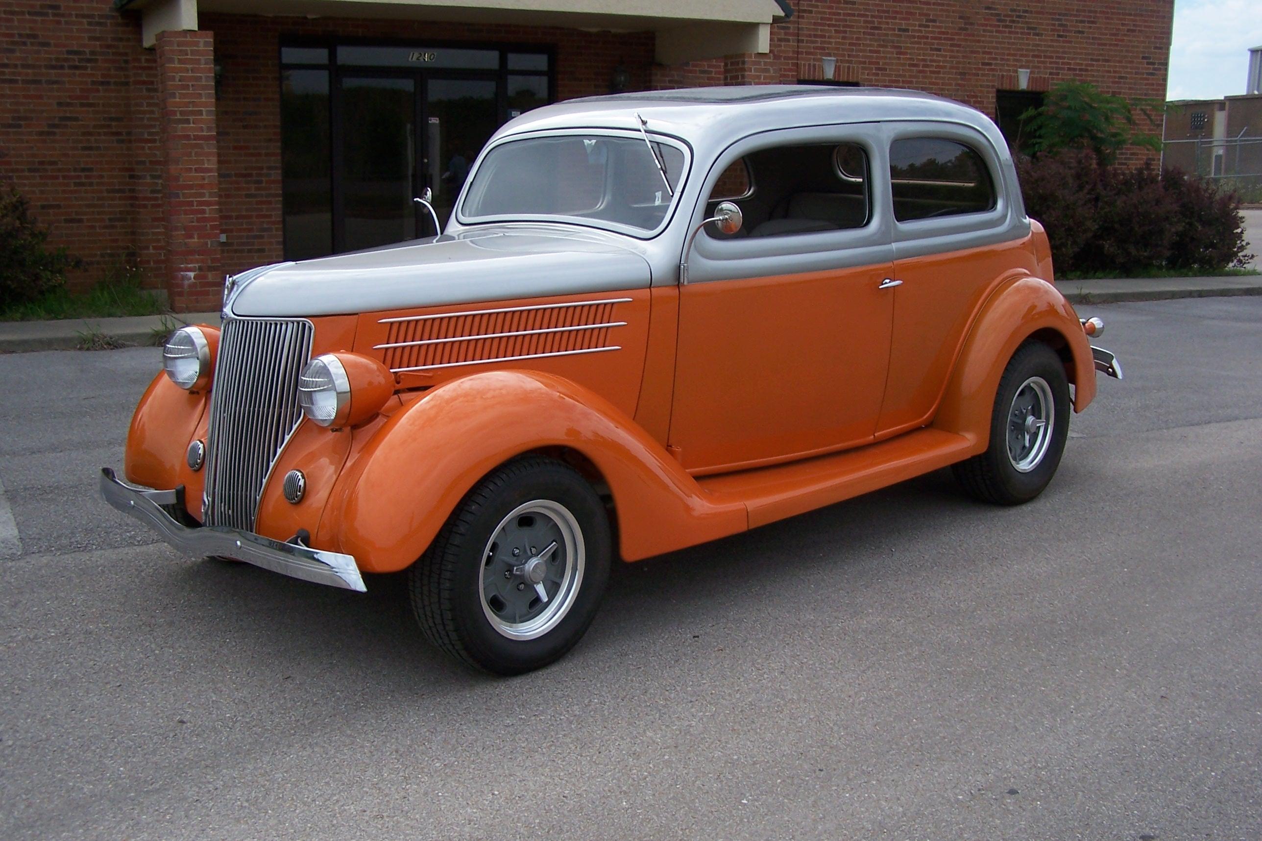 1936 Ford 'Humpback'