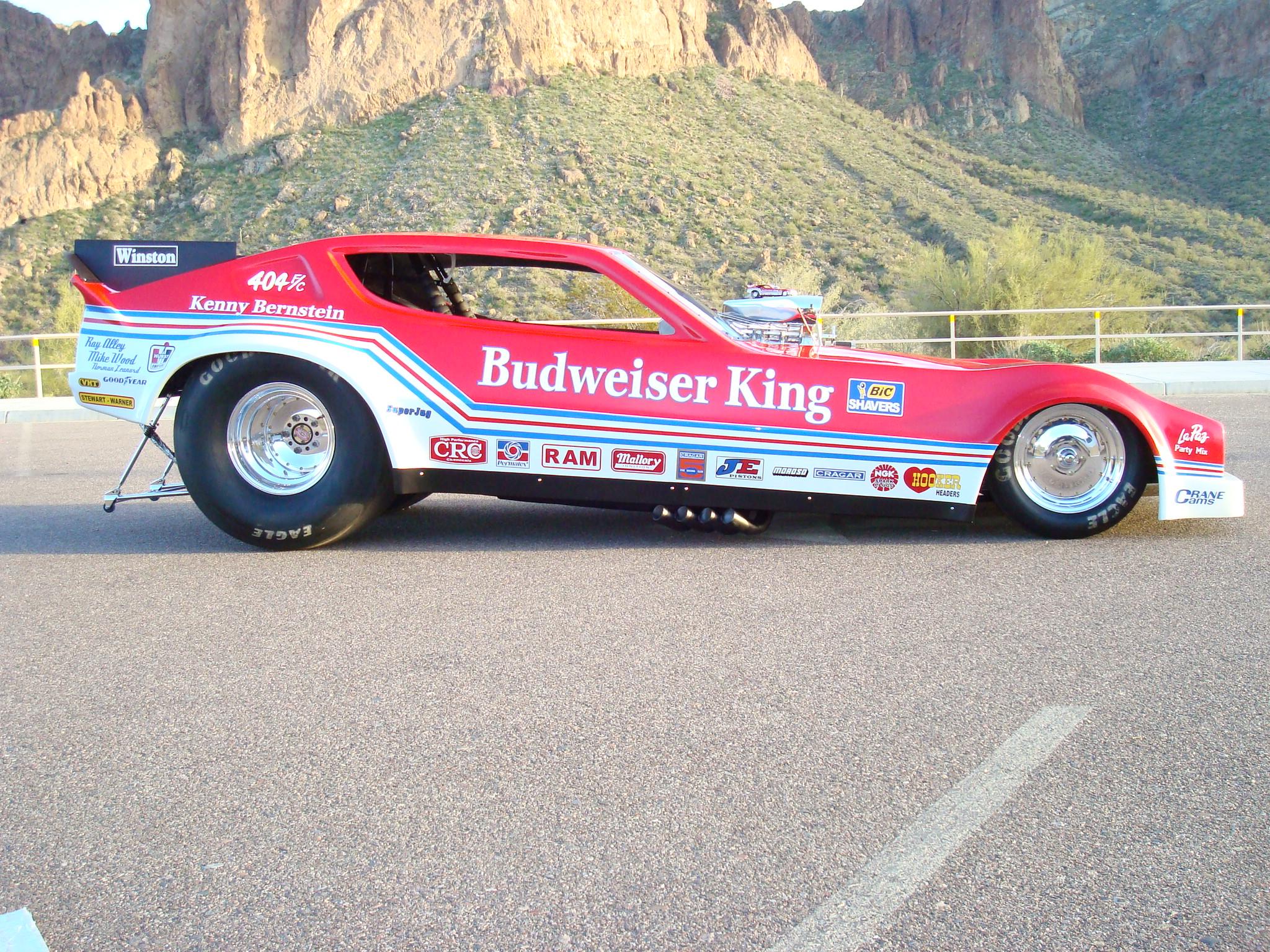 1980 The Original Budweiser King Kenny Bernstein Top Fuel Funny Car