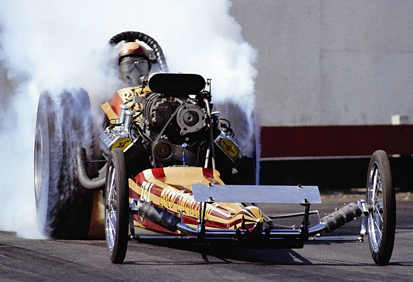 1968 Jim Davis Chassis/hagemann Body Front Engine Top Fuel