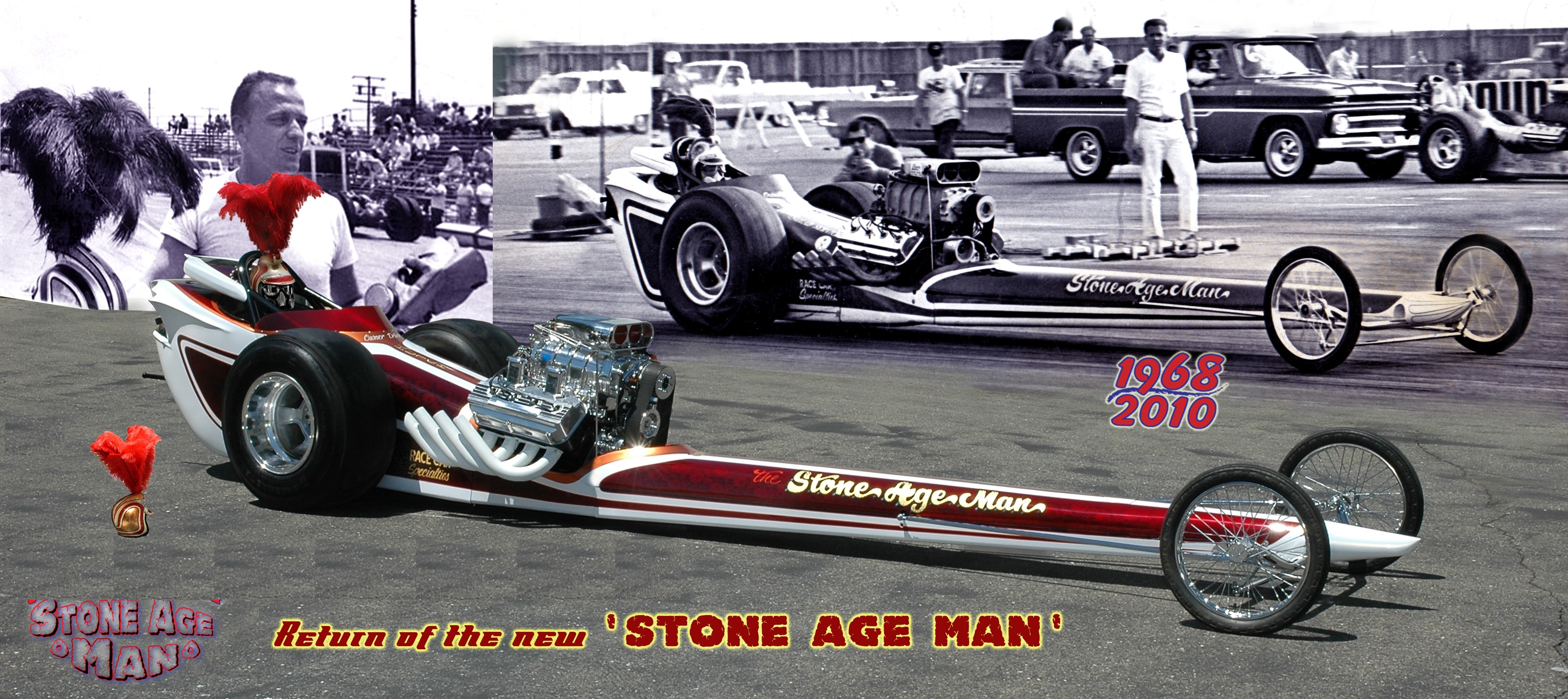 1968 Race Car Specialtys AA /FD Dragster