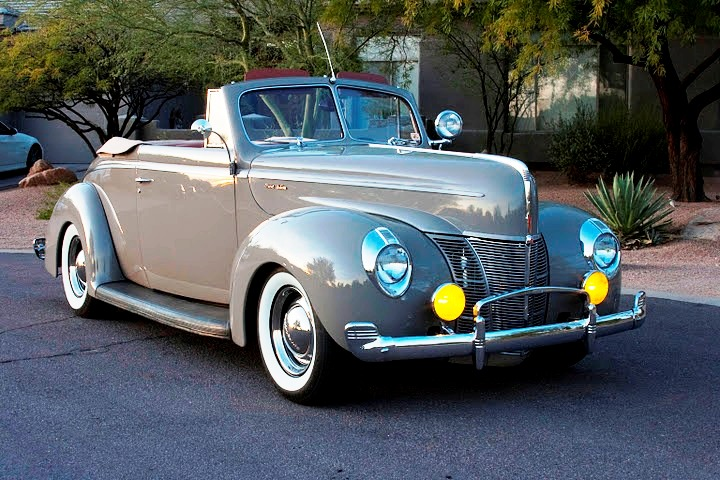 1940 Ford Deluxe Convertible Resto-Rod