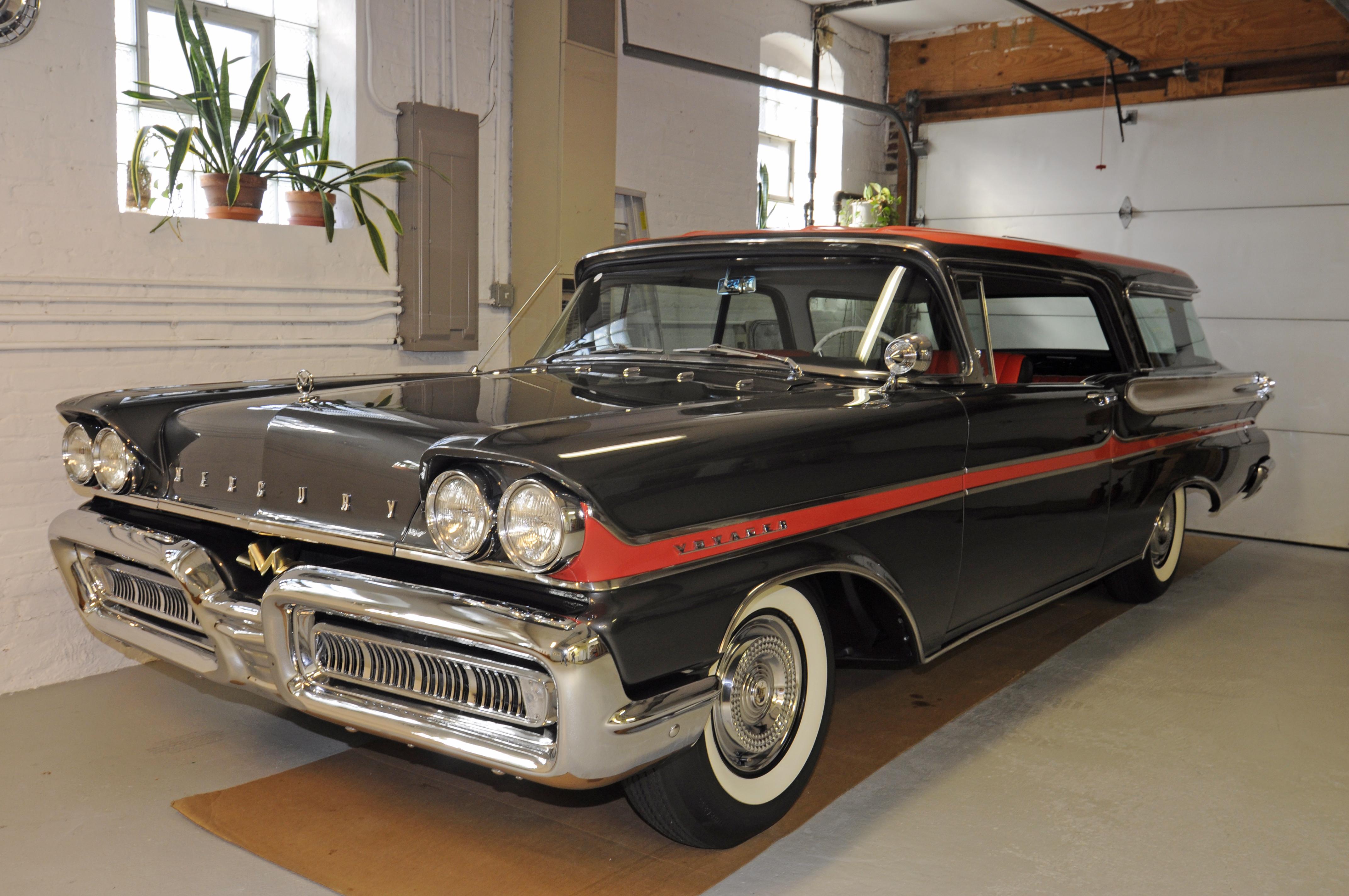1958 Mercury Voyager Two Door Wagon