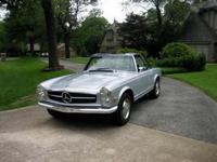 1968 Mercedes-Benz 280 SL Convertible