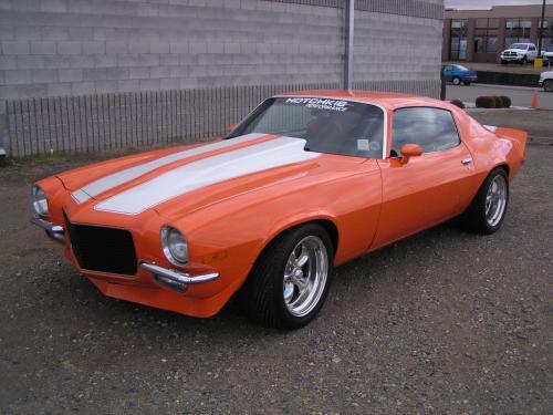 1971 Chevrolet Camaro F71 Hotchkis