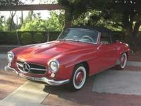 1957 Mercedes-Benz 190SL Convertible