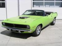 1970 Plymouth Cuda Convertible