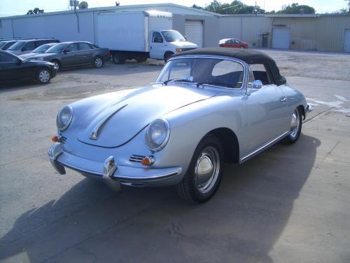 1962 Porsche 356 Cabriolet