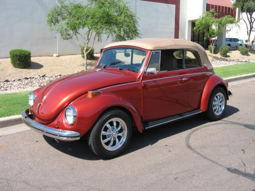 1971 Volkswagon Beetle Convertible