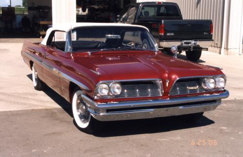 1961 Pontiac Bonneville Conv.