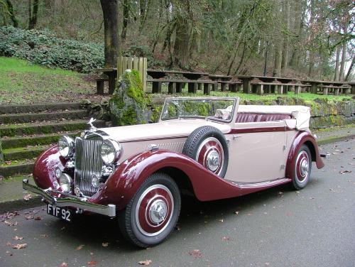 1939 MG WA Tickford