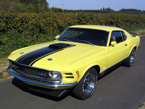 1970 Ford Mustang 428