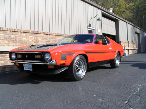 1971 Ford Boss 351