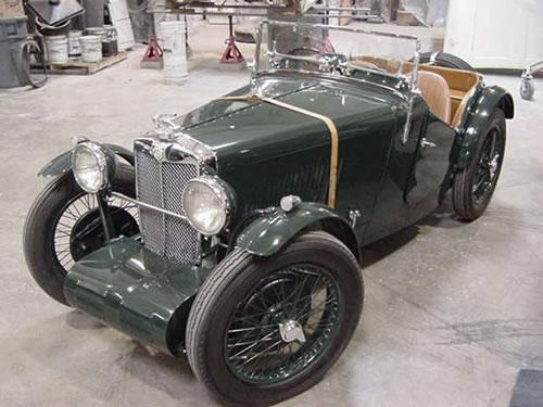 1933 MG J 2