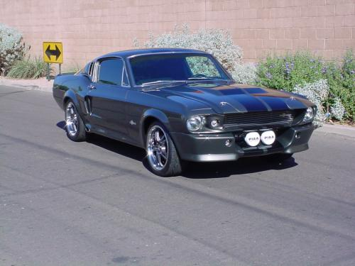 1968 Ford Mustang Custom Fastback