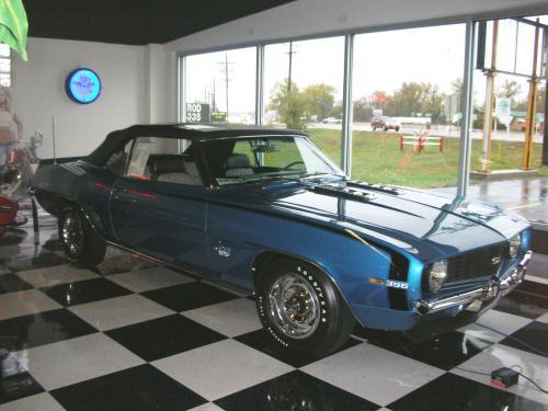 1969 Chevrolet Camaro SS 396/350 Convertible