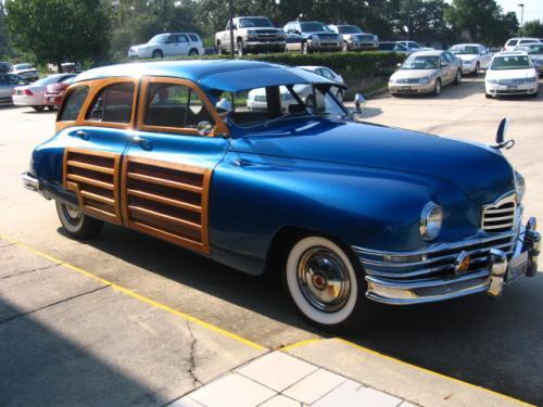 1950 Packard 23rd Series Woody Wagon