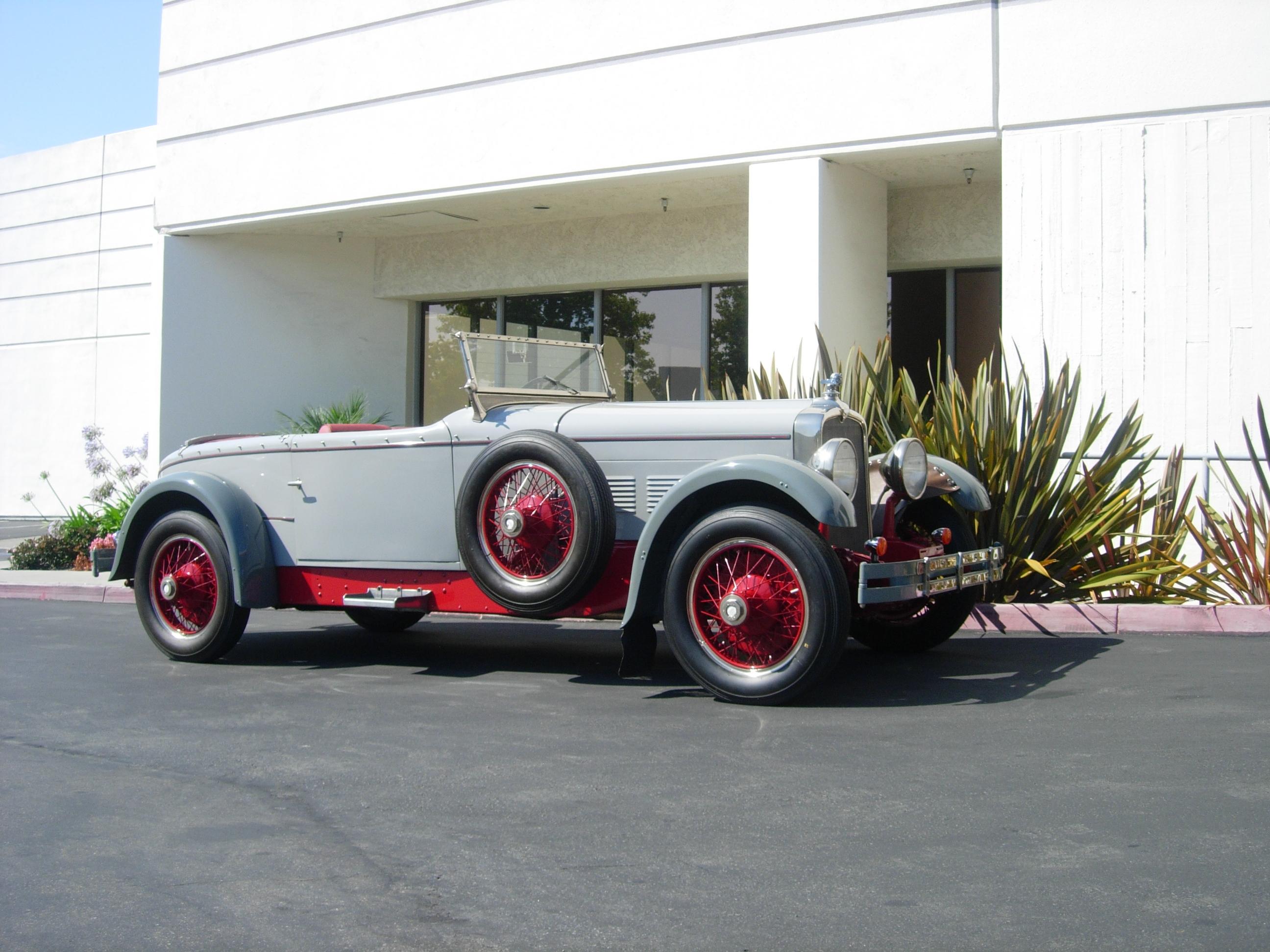 1928 Stutz Boattail Speedster