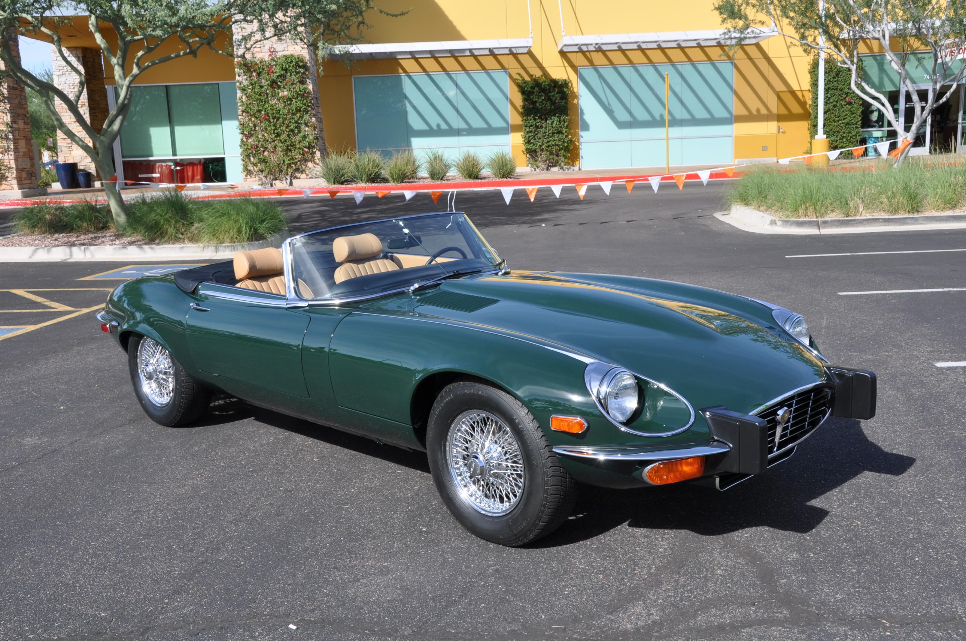 1973 Jaguar E Type V-12