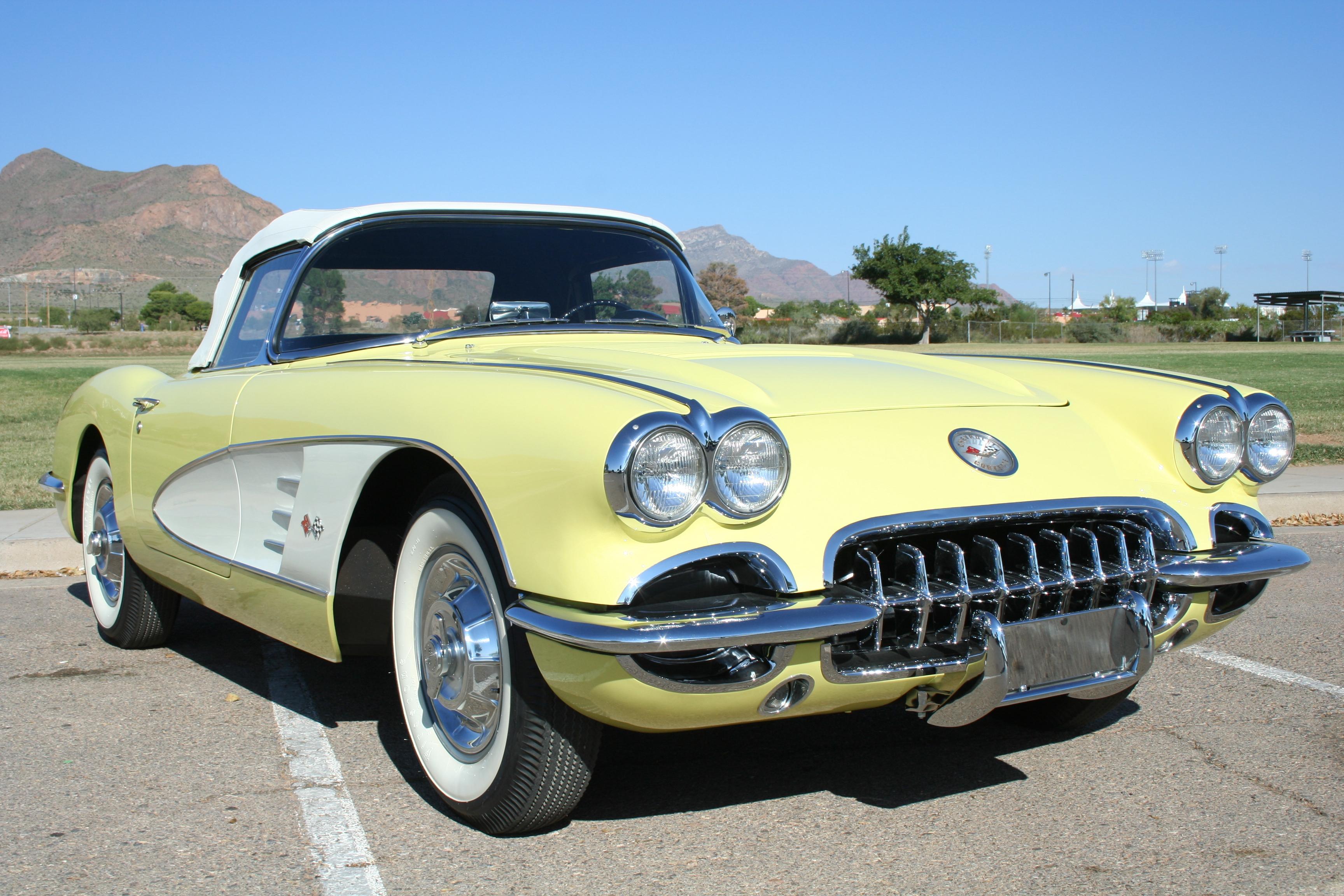 1958 Chevrolet Corvette 283/270