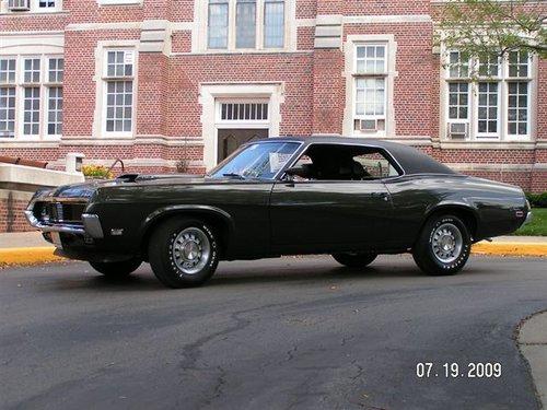 1969 Mercury Cougar 428 SCJ
