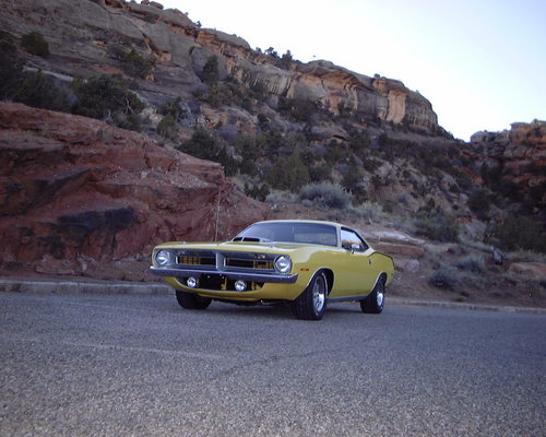 1970 Plymouth Cuda 440/6 'Re-creation'
