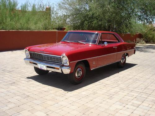 1966 Chevy II Nova 2DHT Sport Coupe