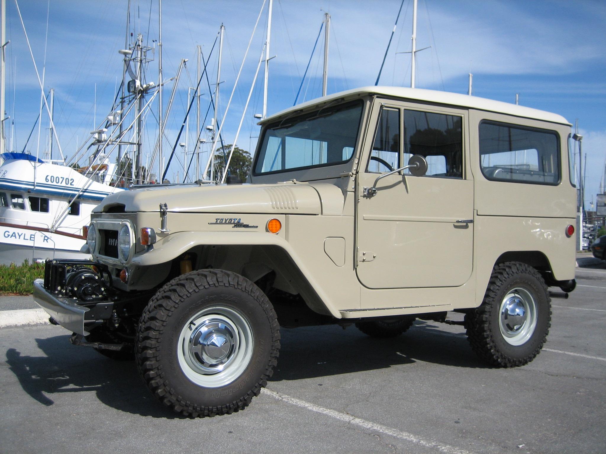 1969 Toyota Land Cruiser Fj40 Photo