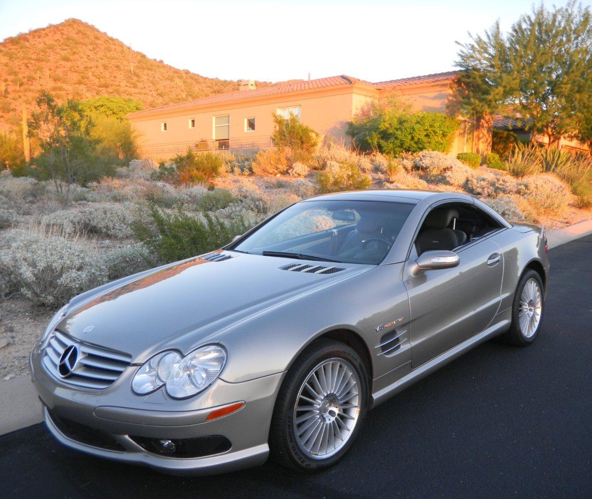 2004 Mercedes-Benz SL55