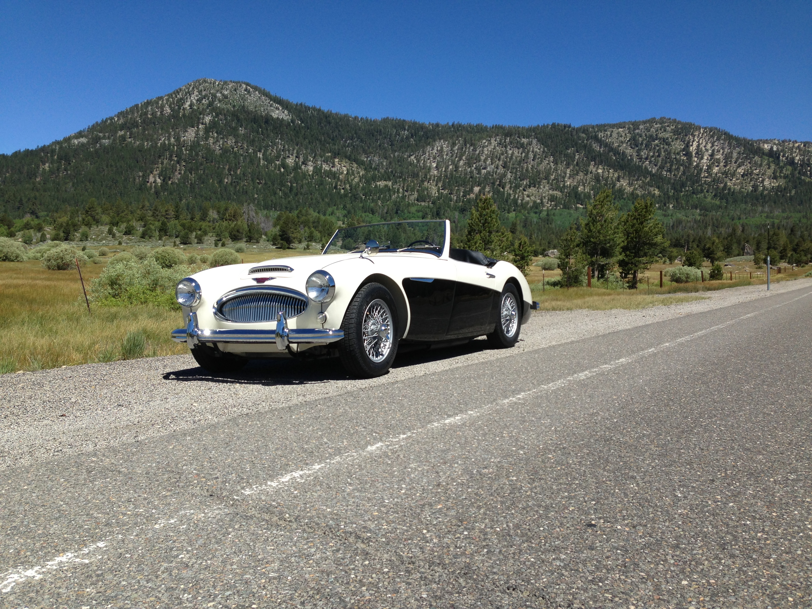 1962 Austin Healey 3000 MARK II BT7