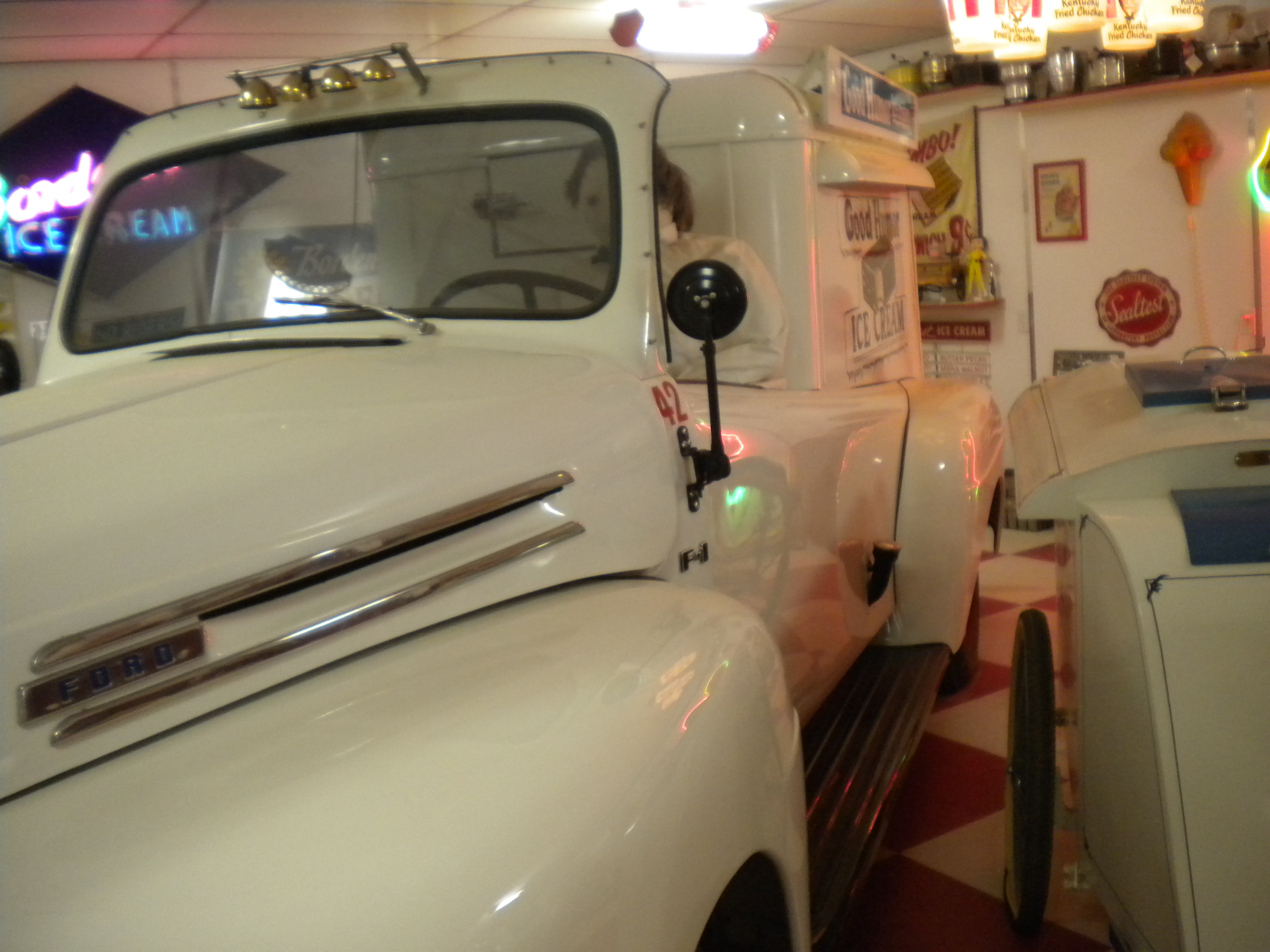 1949 Ford Ice Cream Truck