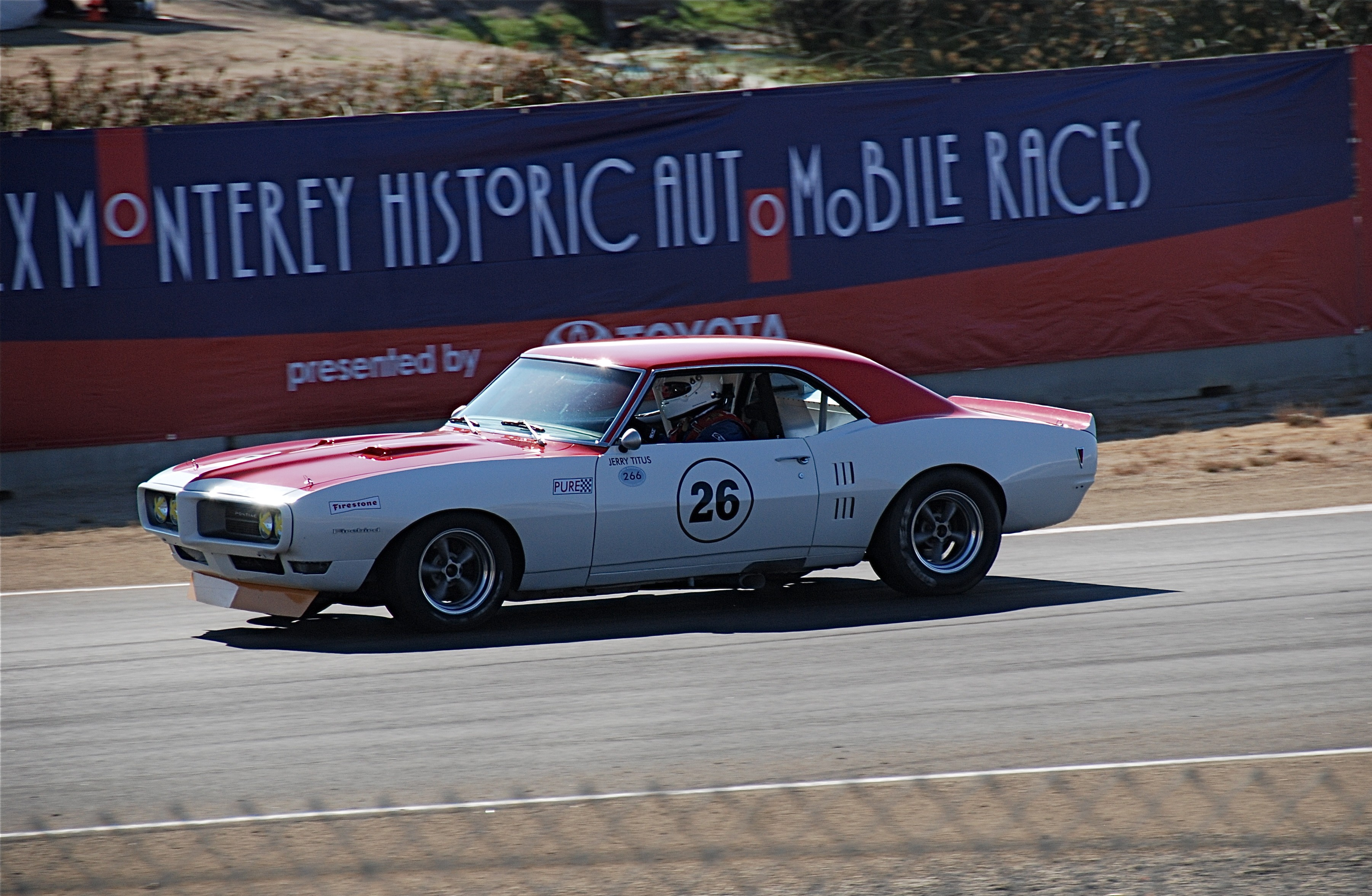 1968 Firebird Titus Vintage Trans-Am Race Car
