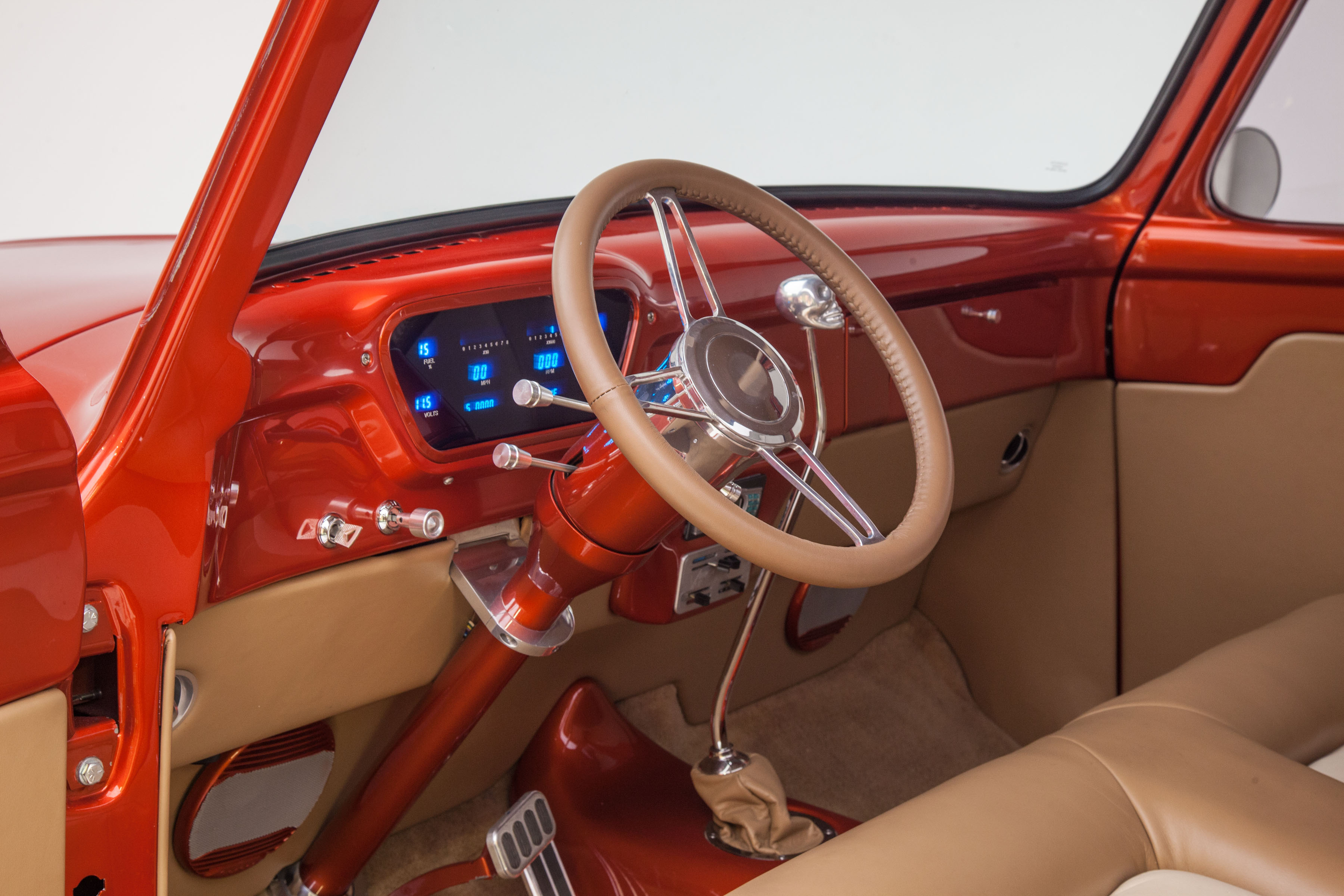 1955 Ford F100 Truck Steering Wheels Photo