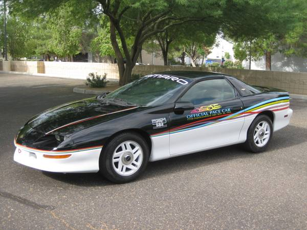 1993 Chevrolet Camaro Indy 500 Tribute Pace Car