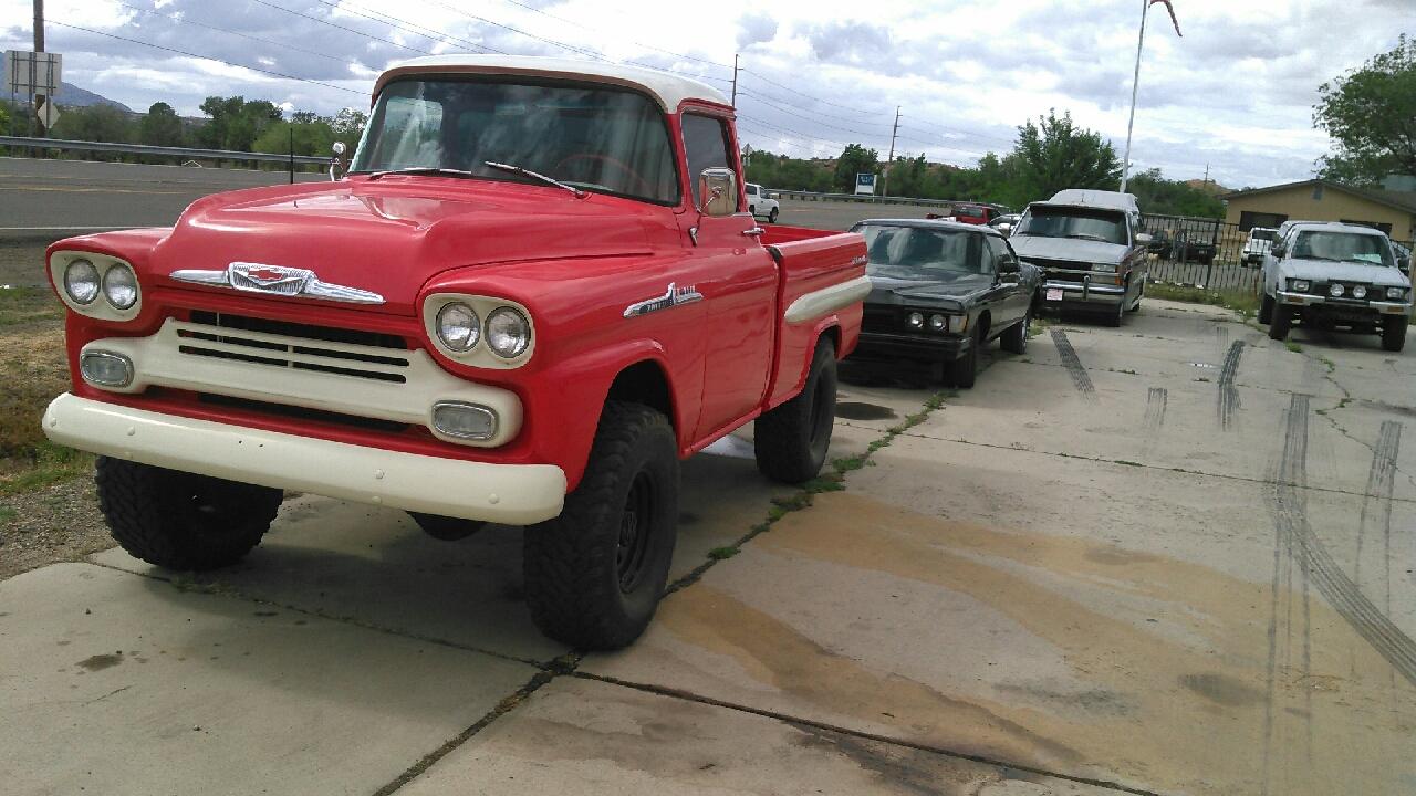 1958 Chevrolet 3100 Fleetside
