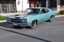 1972 Chevrolet Chevelle Duramax Diesel Twin Turbo Custom
