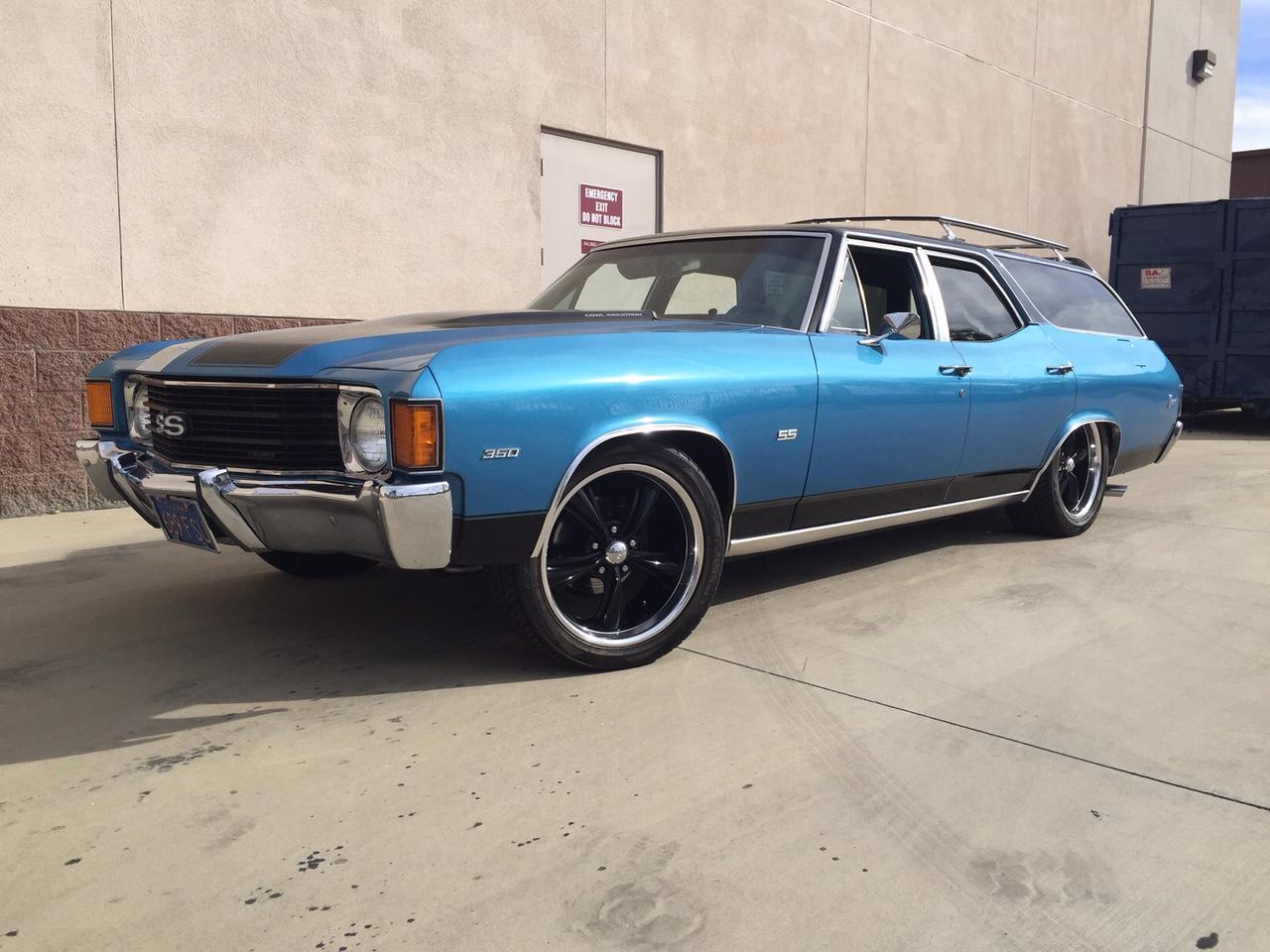 1972 Chevrolet Chevelle Wagon