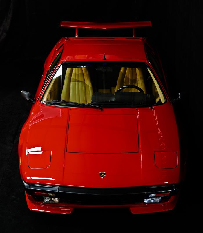 Engine Bay Photo-Lamborghini-Jalpa