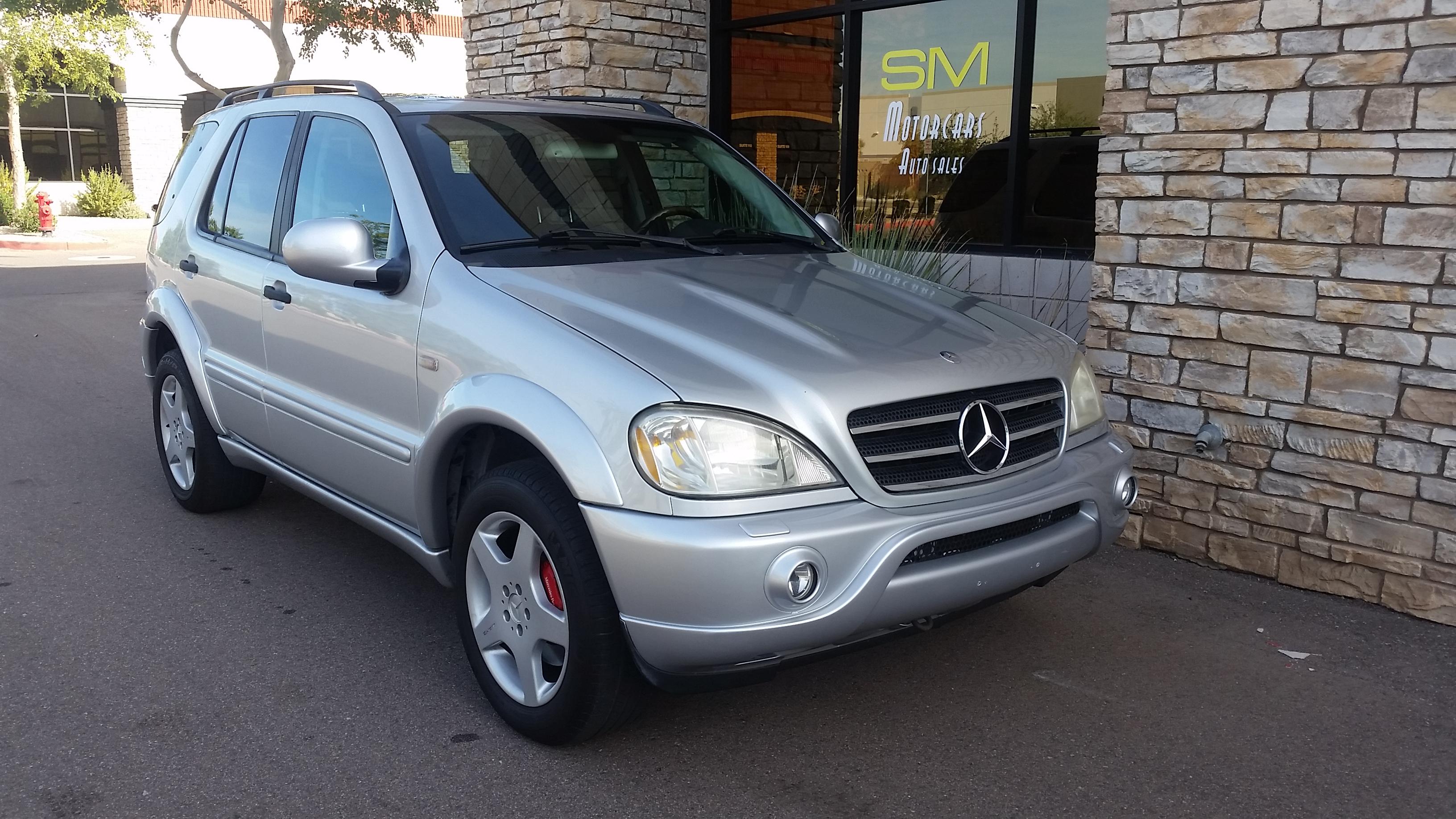 2000 Mercedes ML55