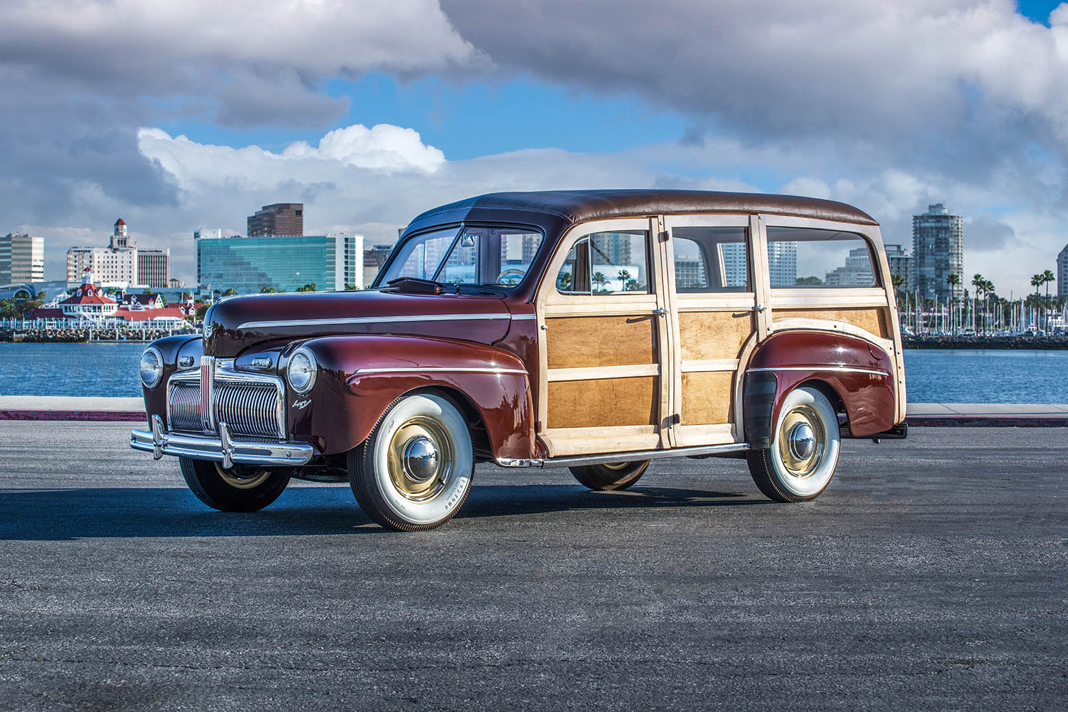 1942 Ford Super Deluxe Woody