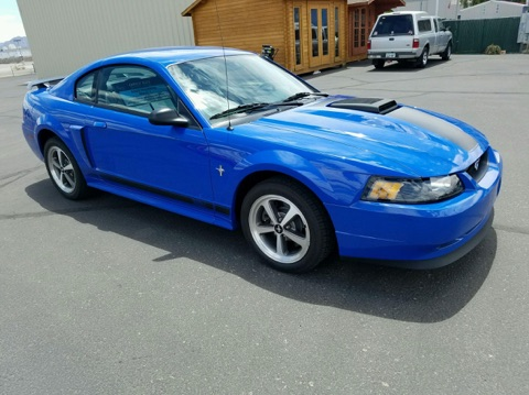 2003 Ford Mustang Mach-1