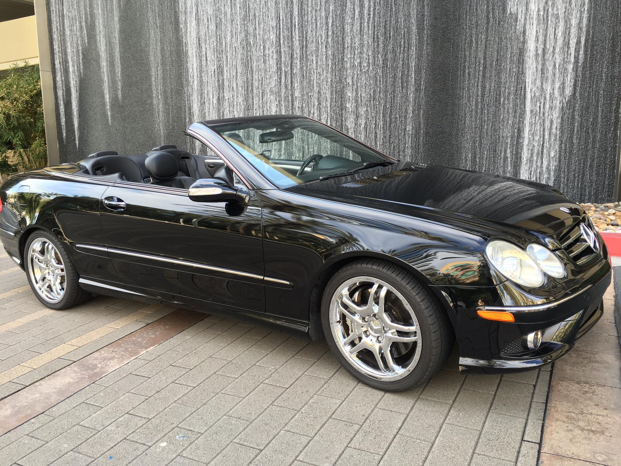 2006 Mercedes Benz CLK 55 AMG