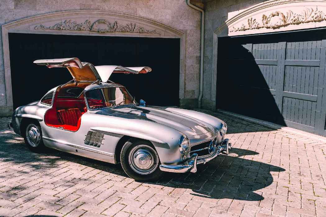 Engine Bay Photo-Mercedes-Benz-300SL Gullwing