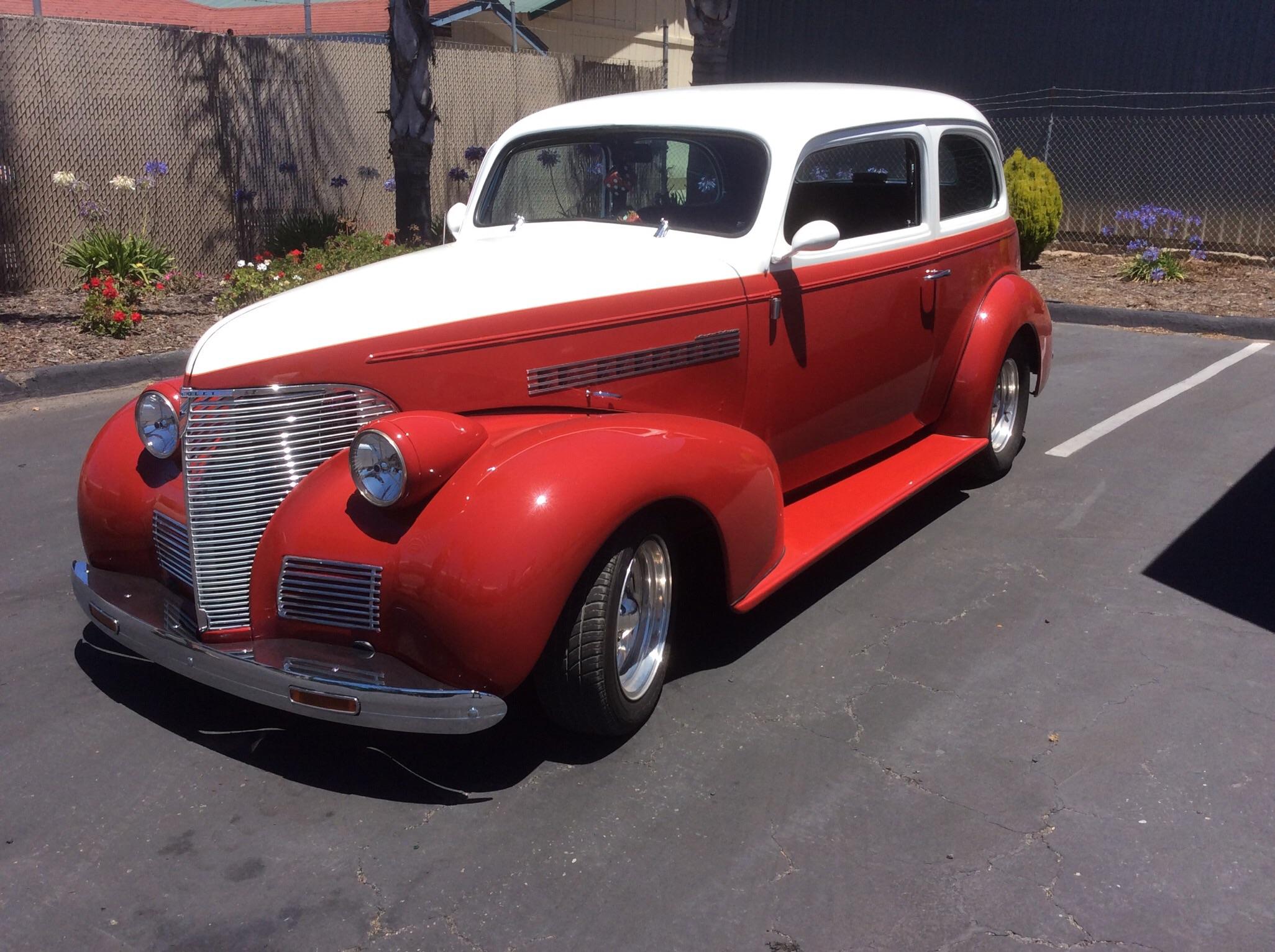 1939 Chevrolet 2 Door Sedan Master Delux