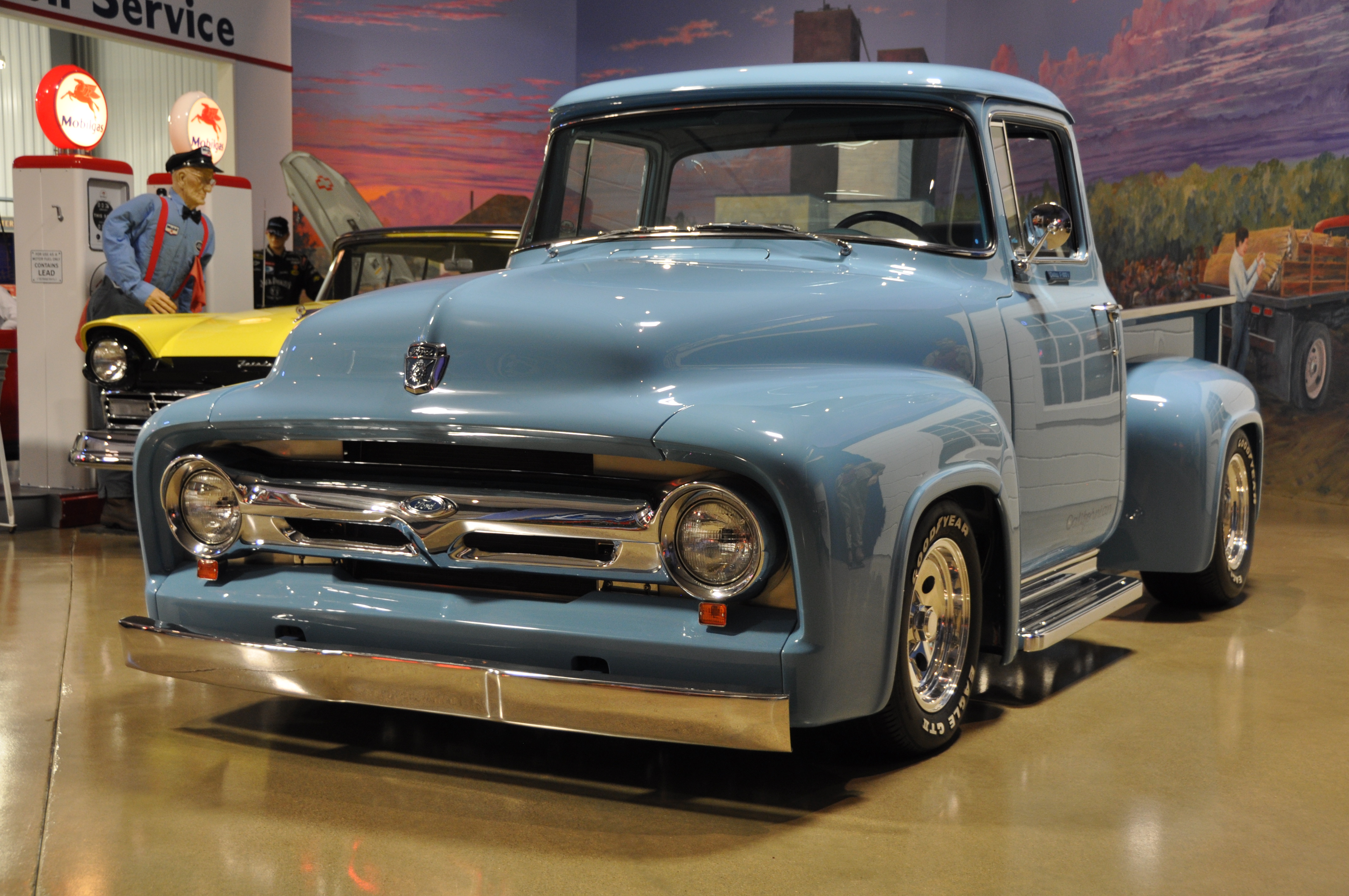 1954 Ford F100 Custom Long Bed From The Okoboji Museum Collection Vehicle To Be Offered For Auction Sale January 19th 22nd 2017 At Russo And Steeles 17th Annual Scottsdale Arizona