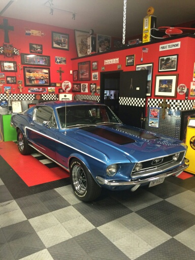 1968 Ford Mustang GT S Code