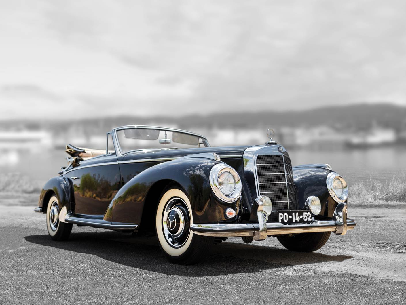 1954 Mercedes 300 S Cabriolet A