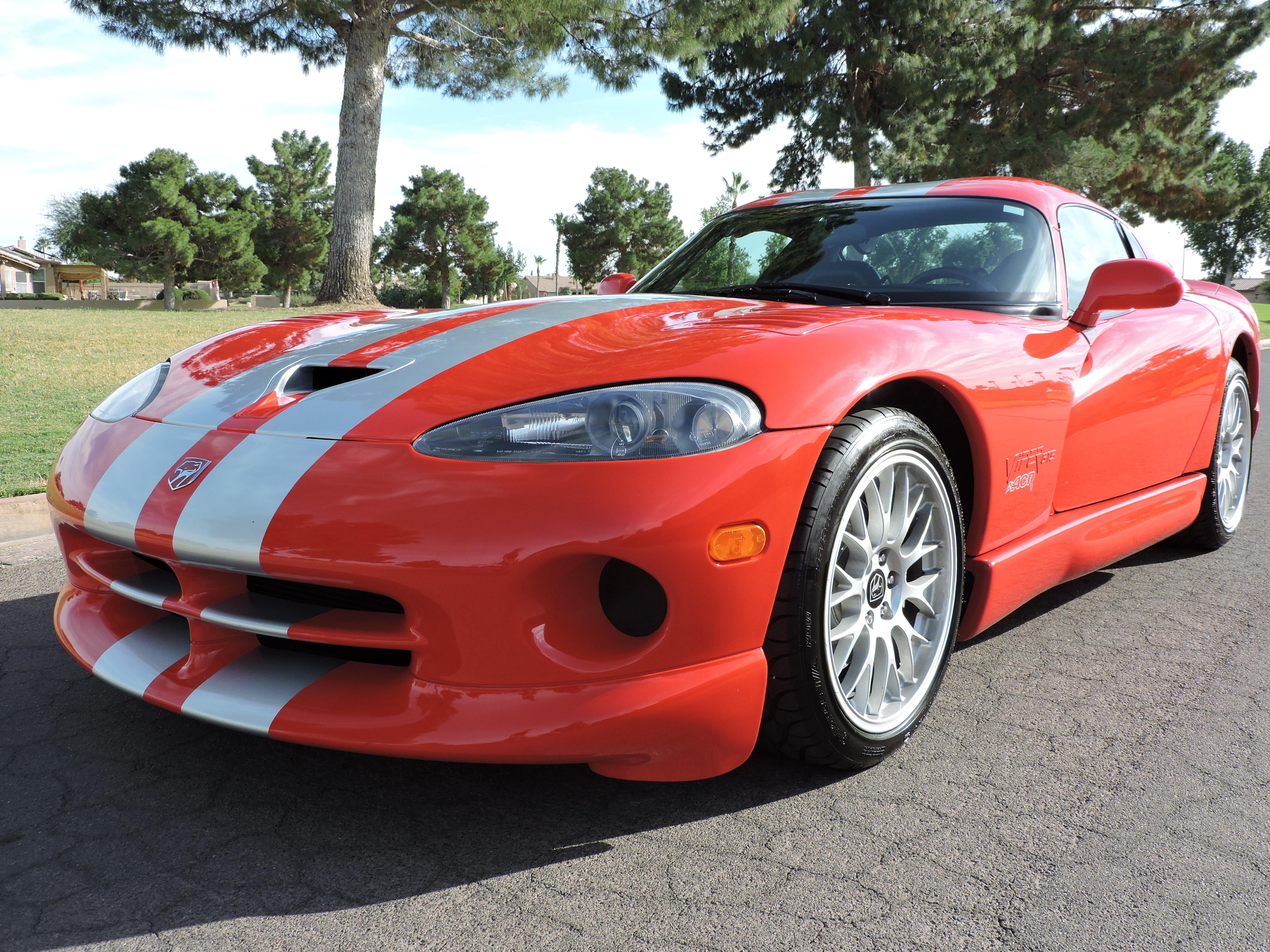 2001 Dodge Viper ACR